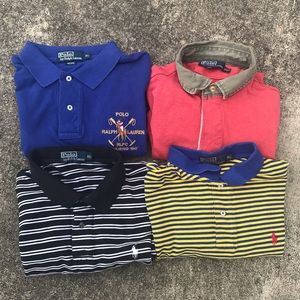 Polo by Ralph Lauren Polo Lot. 4 Unique Polo sz XL